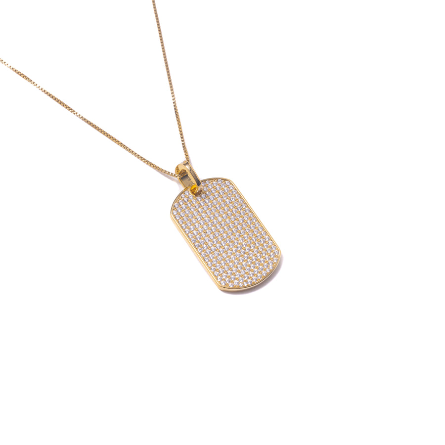 CLASSIC TAG NECKLACE