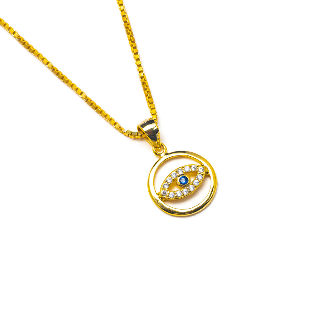 KBL MINI EVIL EYE NECKLACE