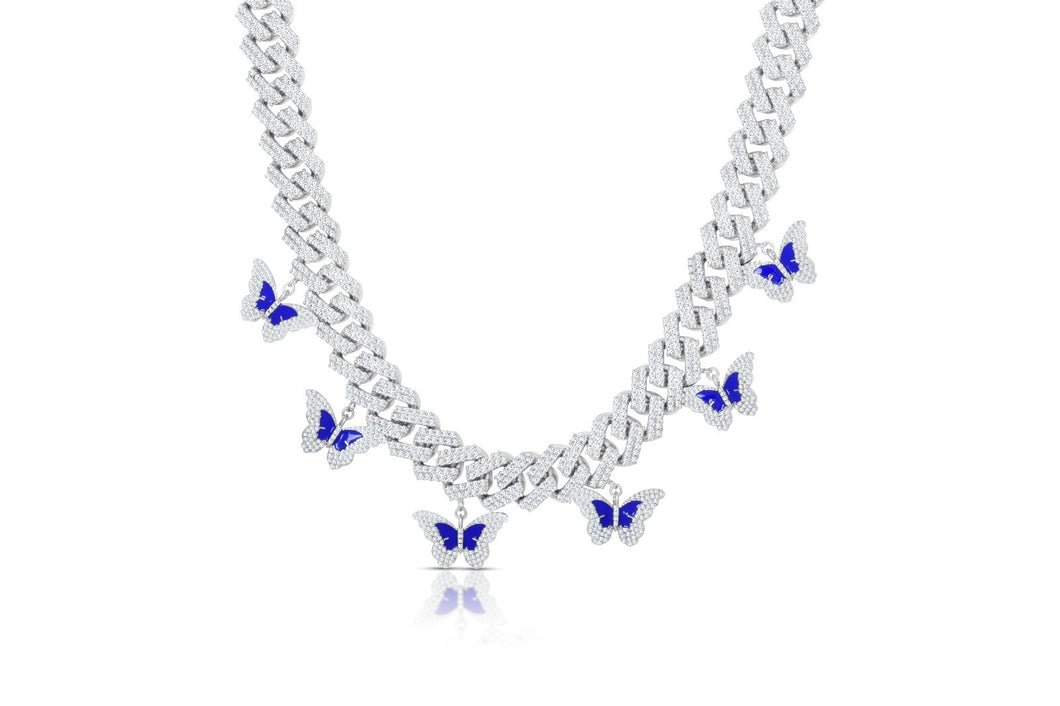 ICY BUTTERFLY EFFECT NECKLACE