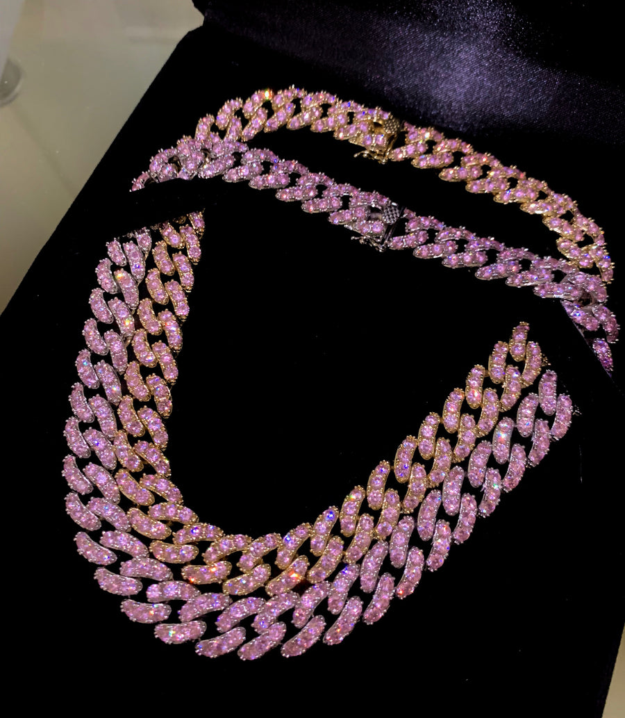 BARBIE CUBAN LINK II CHOKER