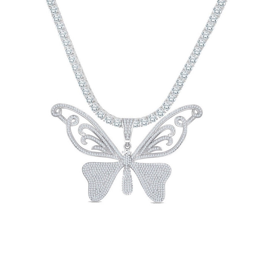 STASSI BUTTERFLY NECKLACE