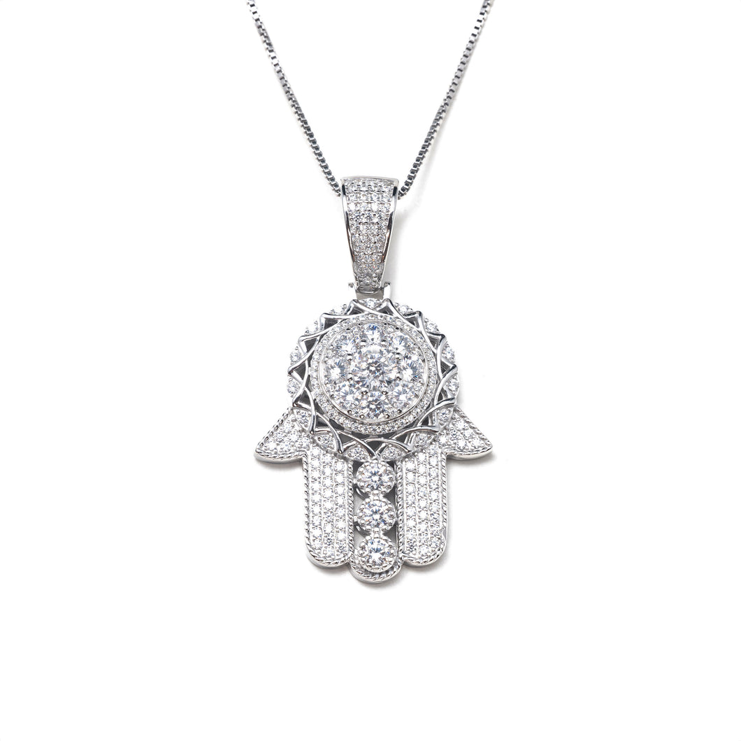 PROTECT ME HAMSA II NECKLACE