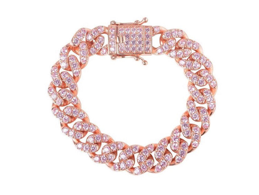 BARBIE CUBAN LINK BRACELET