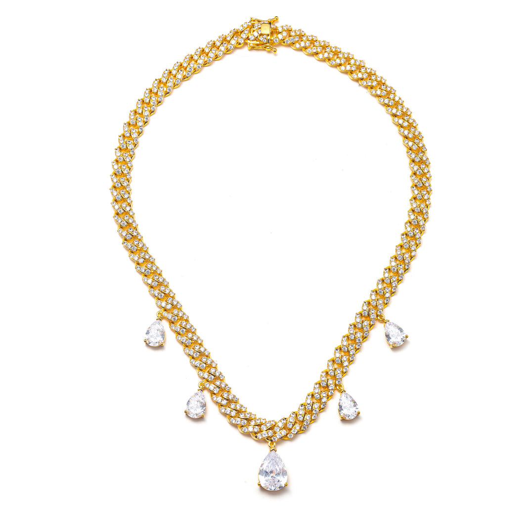 ANGELINA CUBAN LINK NECKLACE
