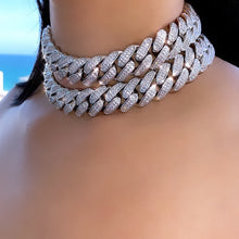 Load image into Gallery viewer, HOT GIRL CUBAN LINK NECKLACE