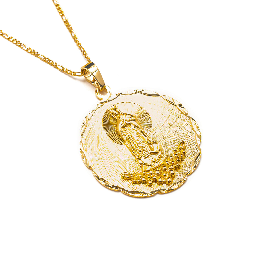 LUPITA MEDALLION NECKLACE