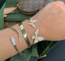 Load image into Gallery viewer, LEILAH BUTTERFLY BANGLE