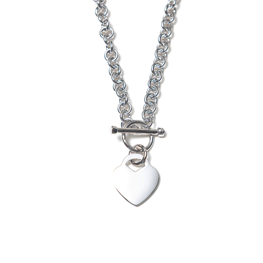 Y2K HEART NECKLACE