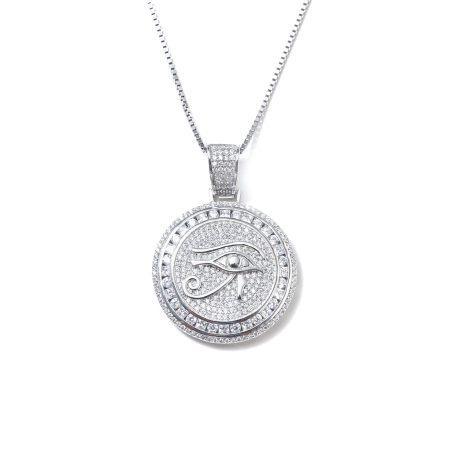 ICY EYE OF RA NECKLACE