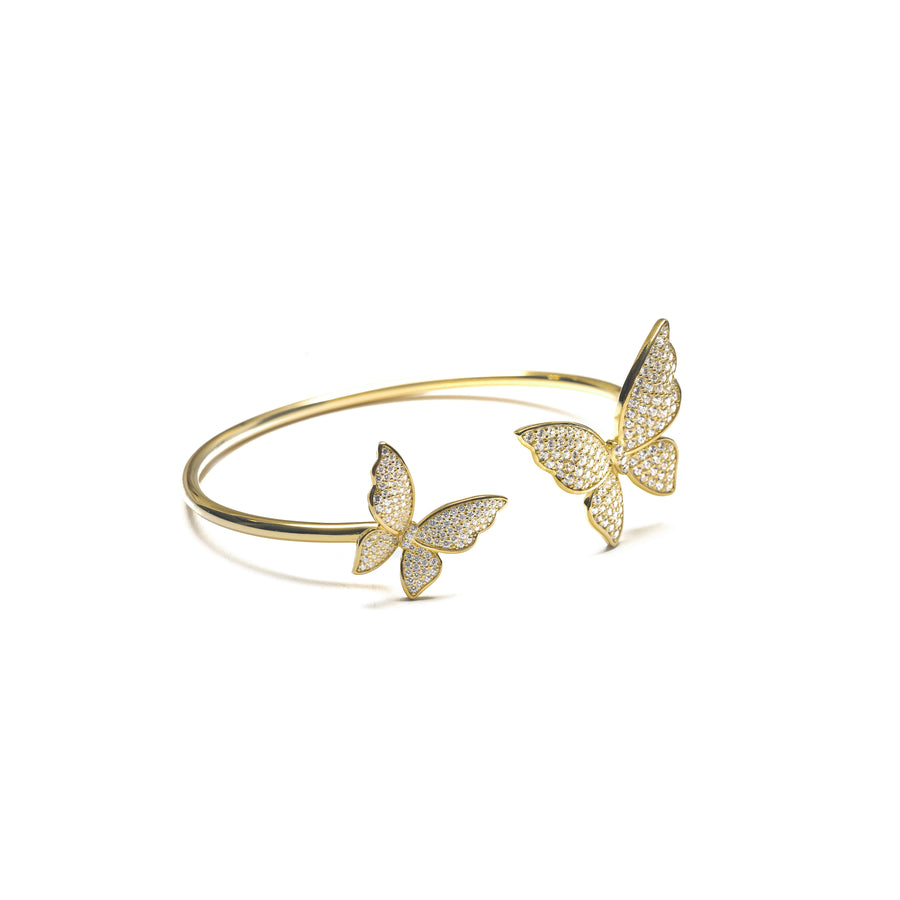 LEILAH BUTTERFLY BANGLE