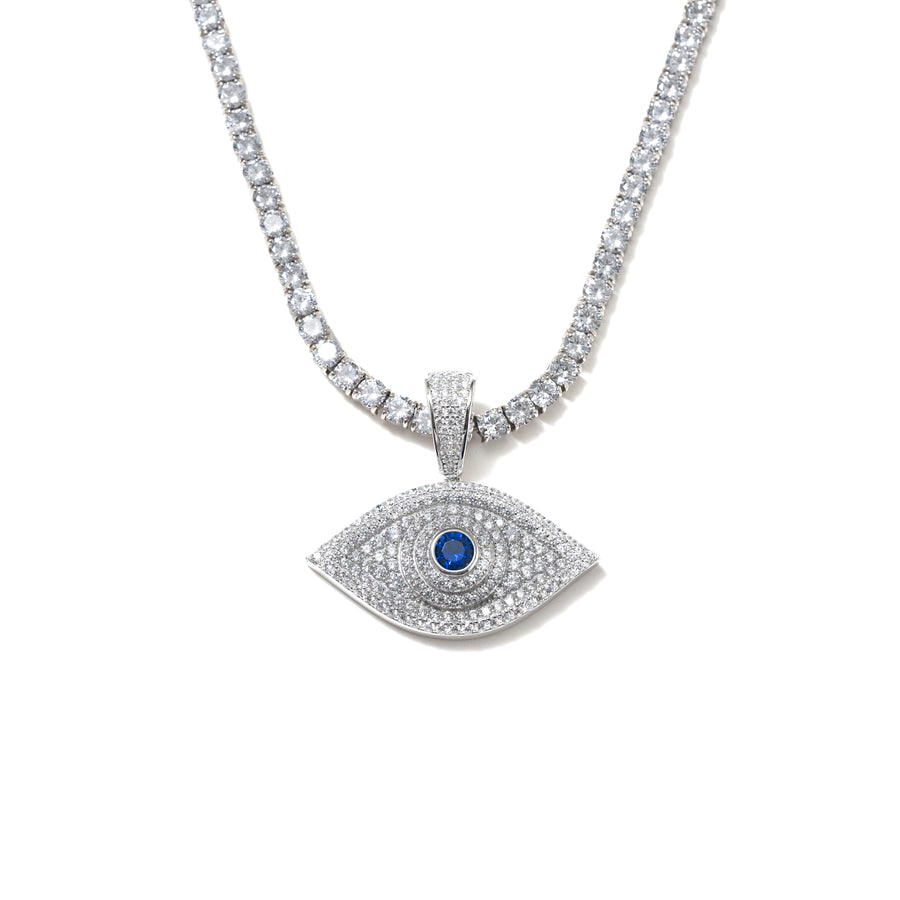 ICY EVIL EYE II NECKLACE