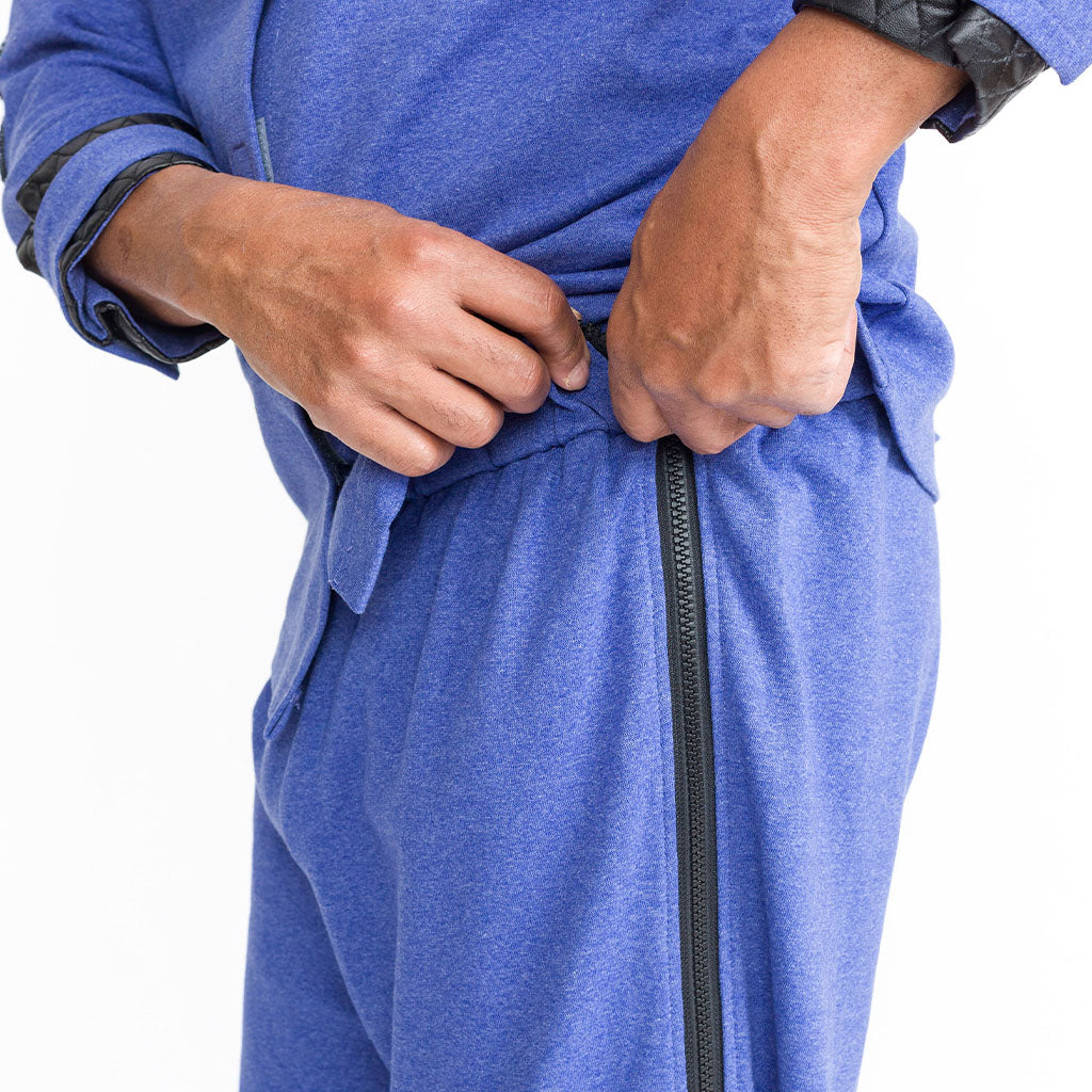 Men's Adaptive Side Zipper Sweat Pants