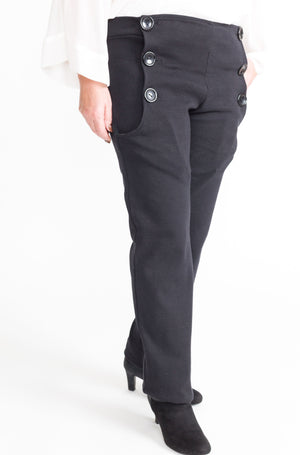Women's Easy Access Navy Pants