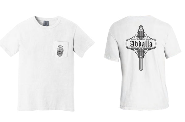 Abdalla White Pocket T-Shirt