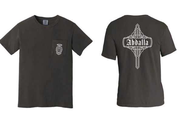 Abdalla Charcoal Pocket T-shirt