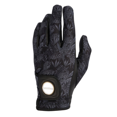 ARIA - MEN'S 'GREVY'S ZEBRA' PREMIUM GOLF GLOVE