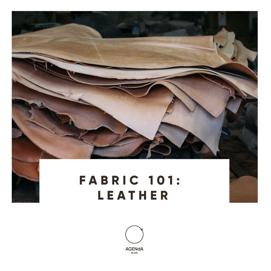 Fabric 101: Leather