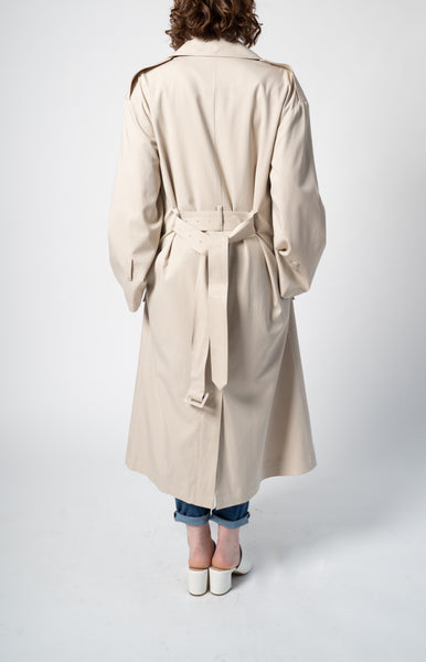 The Slouchy Trench - Beige