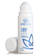 Roll On CBD Freeze Gel 500mg