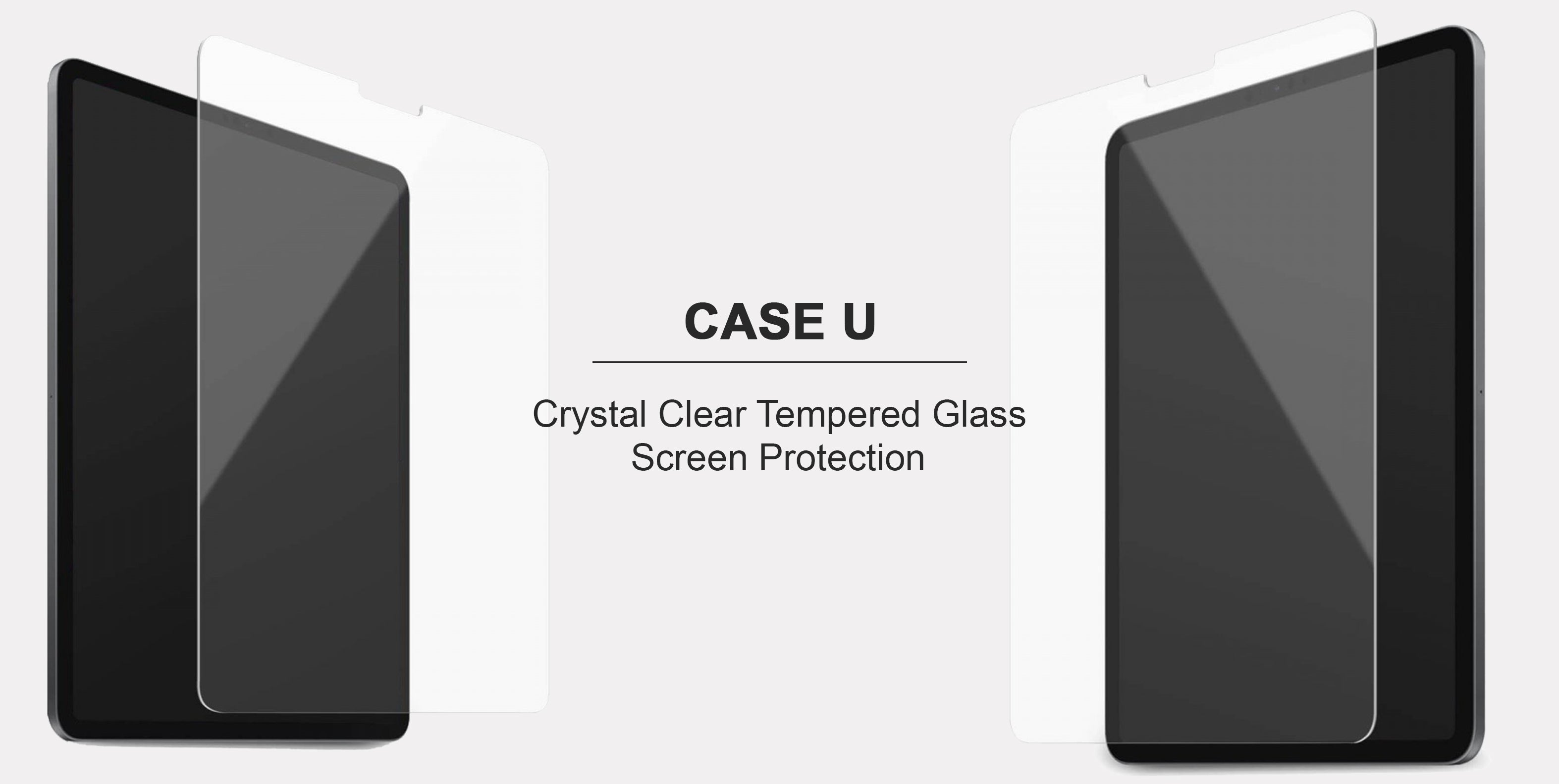 case u crystal clear screen protectors for tablet