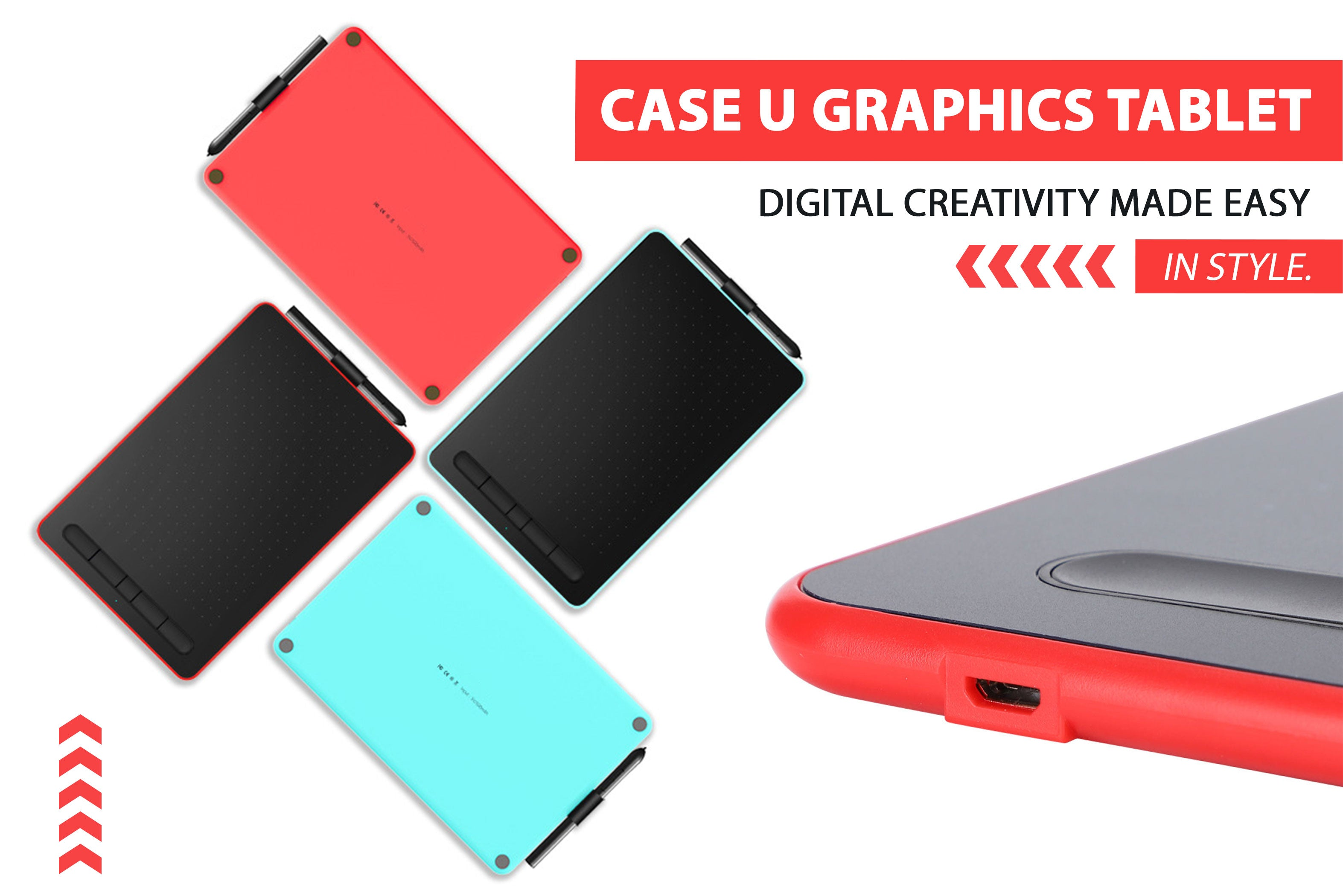 case u graphics drawing tablet