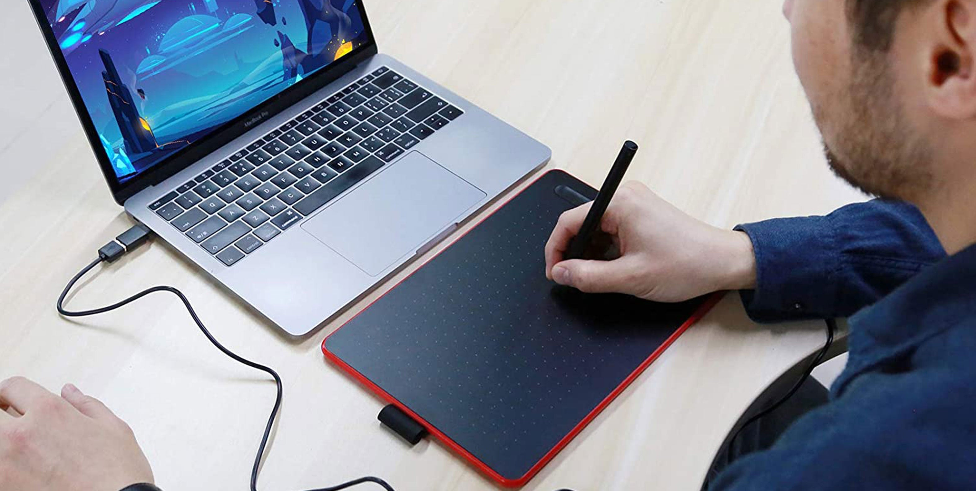 CASE U Graphic Tablet for online learning
