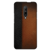 B&B Leather Stitched Case Cover - OnePlus 7 Pro - CASE U