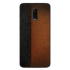 B&B Leather Stitched Case Cover - OnePlus 6T - CASE U