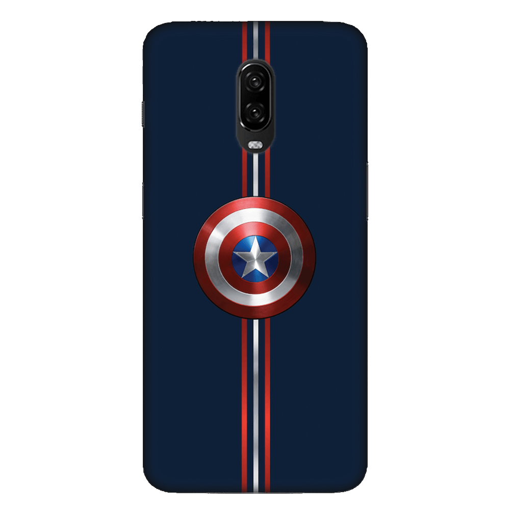 Captain America Shield Case Cover - OnePlus 6T - CASE U