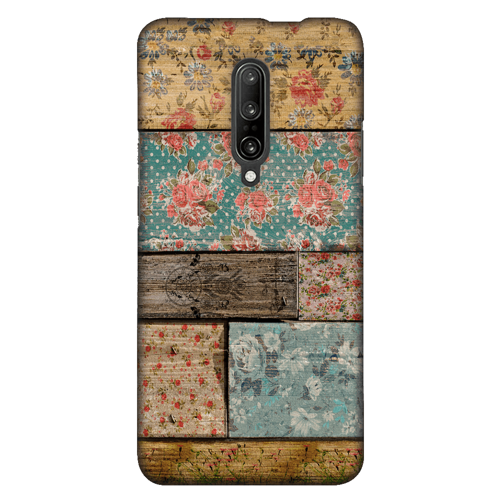 Floral Design Case Cover - OnePlus 7 Pro - CASE U