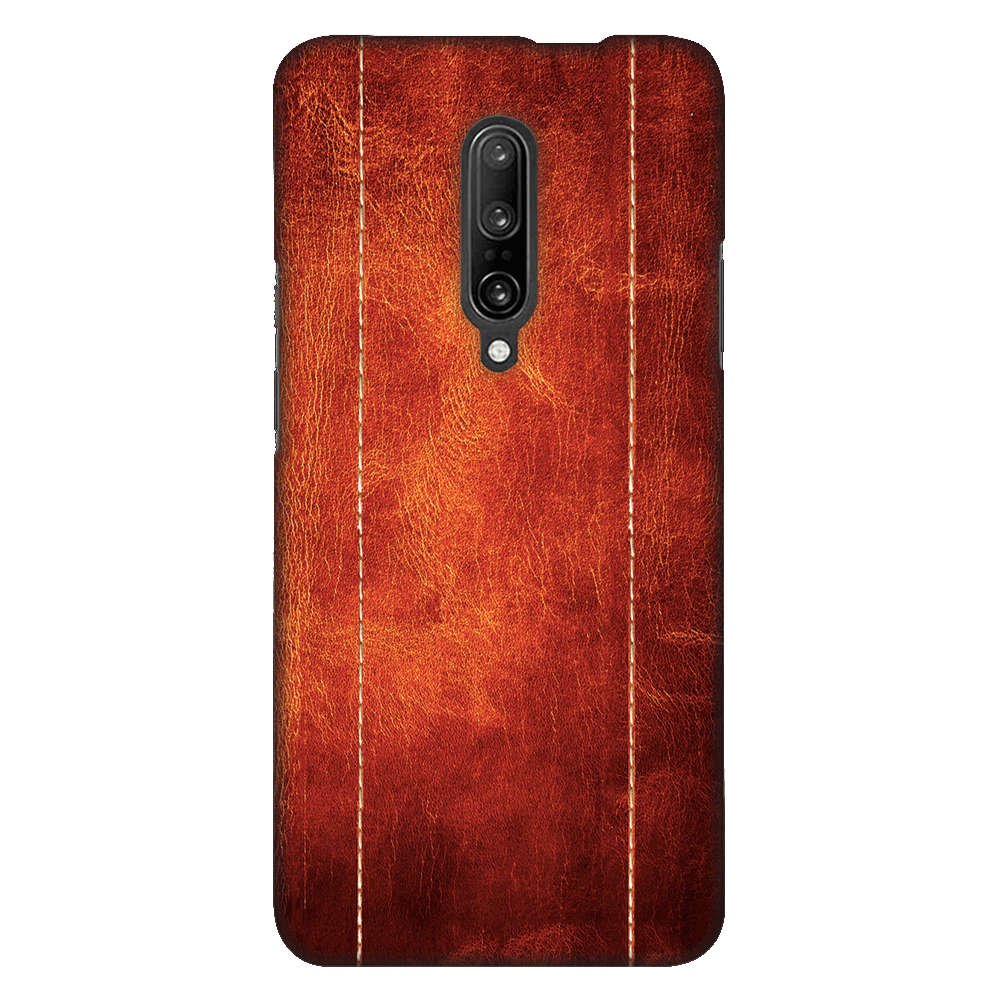 Dual Stitched Leather Case Cover - OnePlus 7 Pro - CASE U