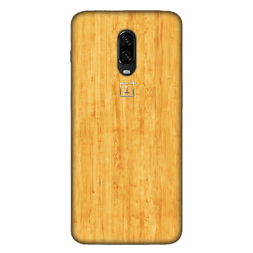 Faux Wooden Texture Case Cover - OnePlus 6T - CASE U