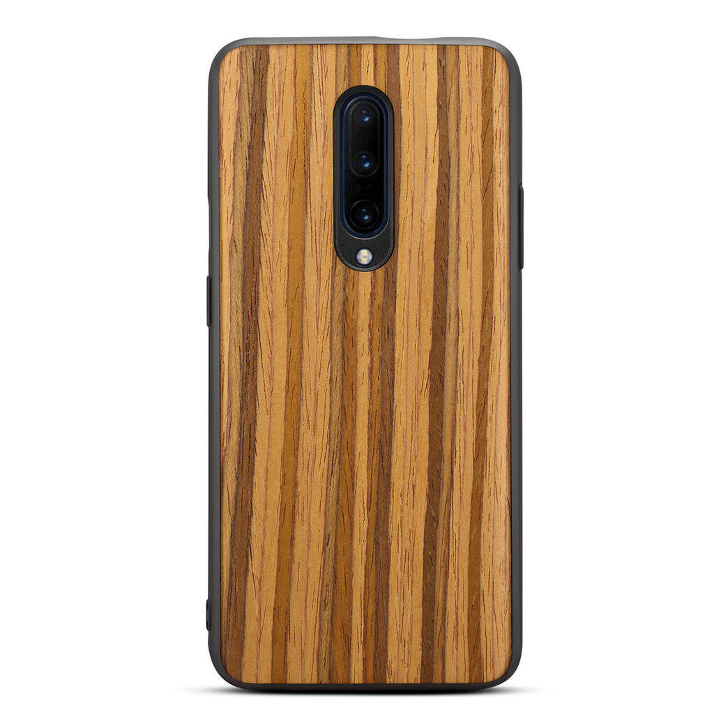 Wood Grain Bumper Back Cover - OnePlus 7 Pro - CASE U