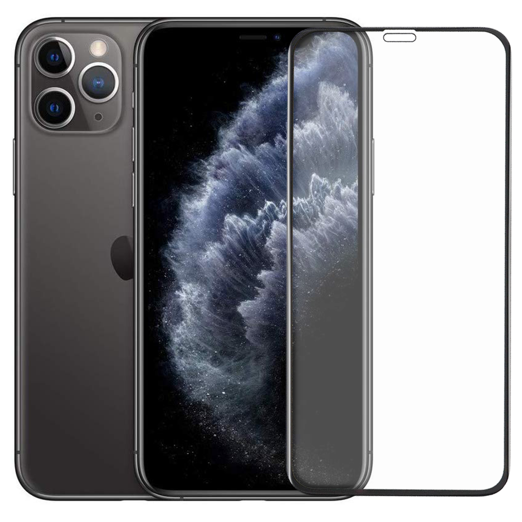 Black Shield Premium Tempered Glass - iPhone 11 Pro - CASE U
