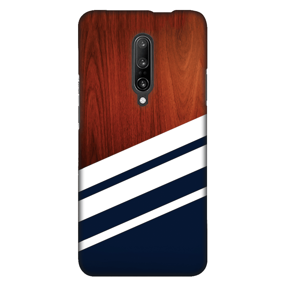 Navy Blue Madera Case Cover - OnePlus 7 Pro - CASE U