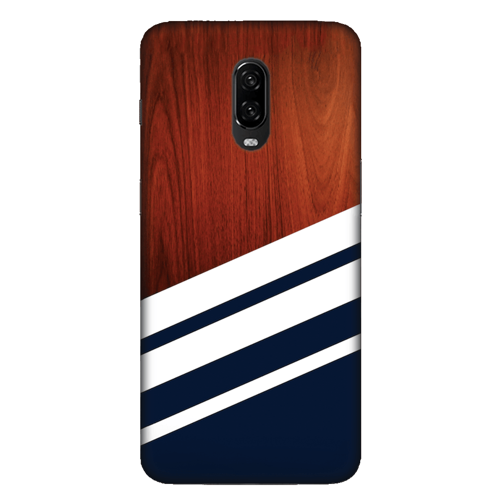 Navy Blue Madera Case Cover - OnePlus 6T - CASE U