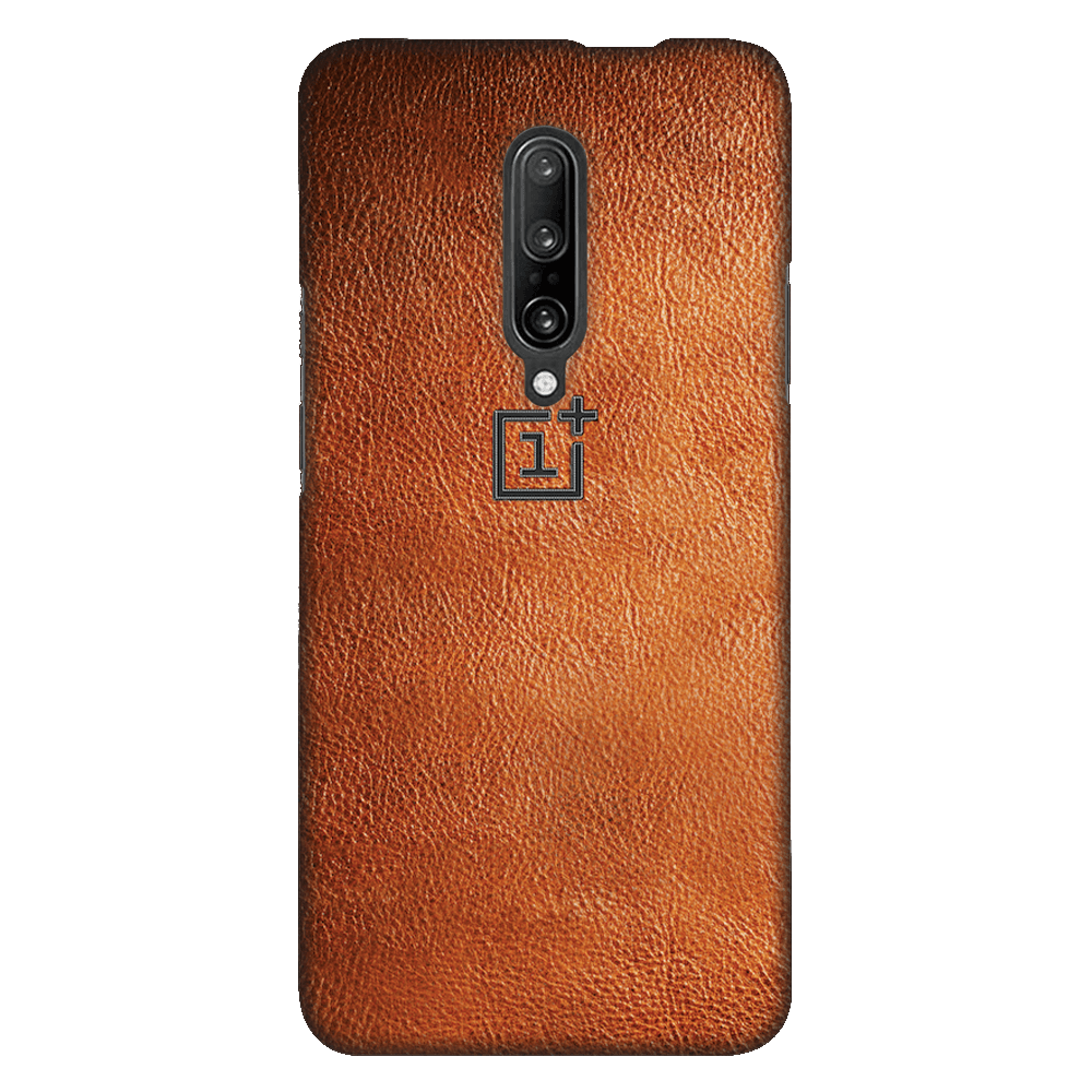 Brown Leather Case Cover - OnePlus 7 Pro - CASE U