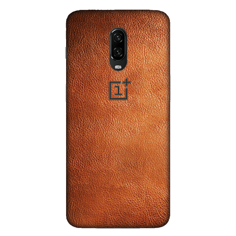 Brown Leather Case Cover - OnePlus 6T - CASE U
