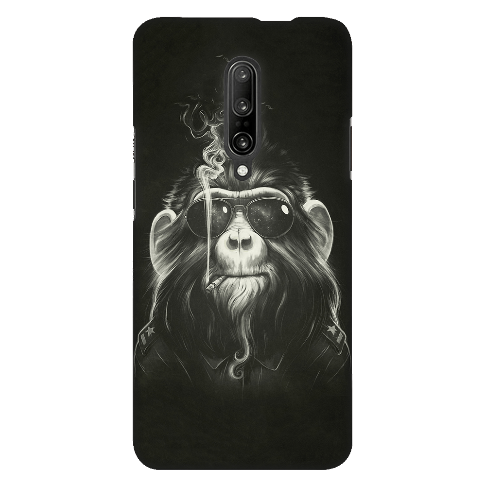 Gangster Smoker Ape Case Cover - OnePlus 7 Pro - CASE U
