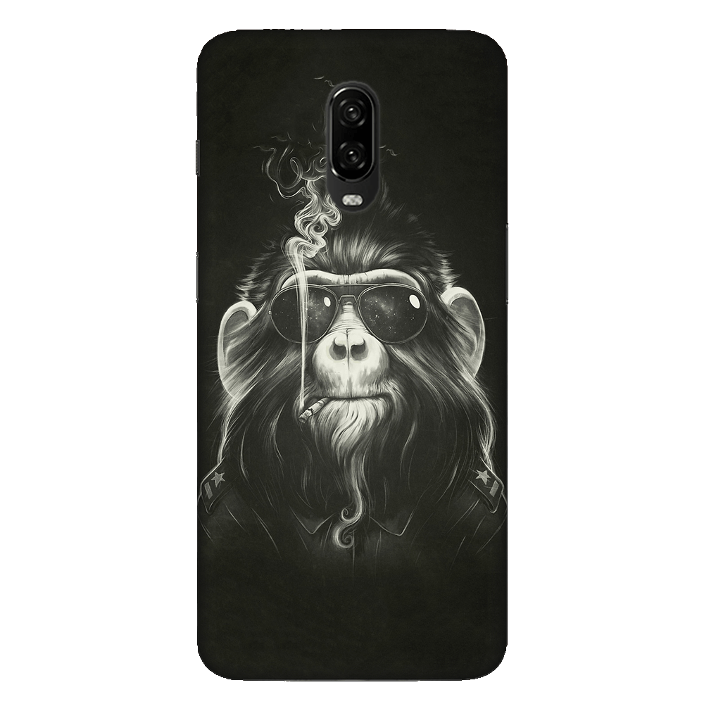 Gangster Smoker Ape Case Cover - OnePlus 6T - CASE U