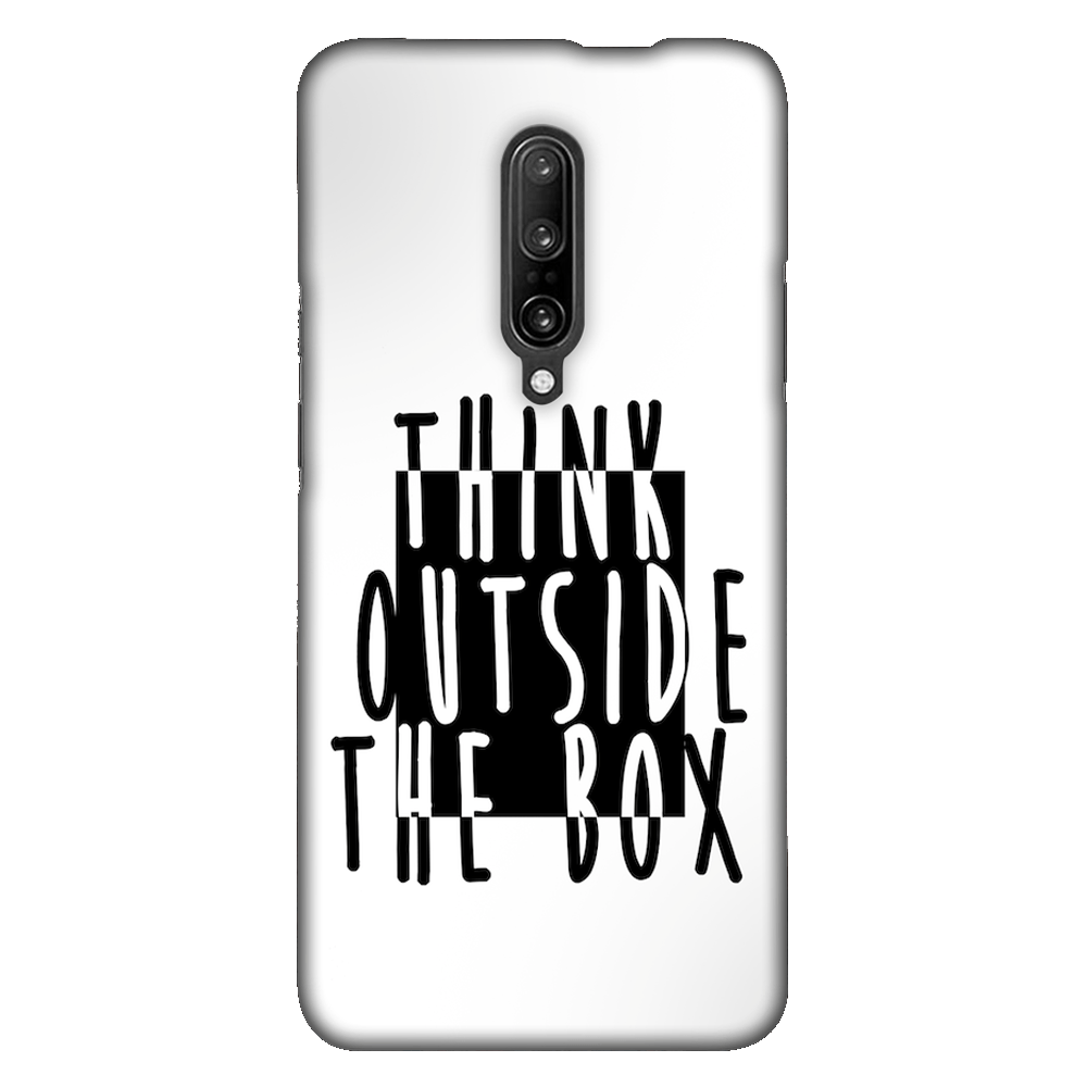 Think Outside of the Box Case Cover - OnePlus 7 Pro - CASE U