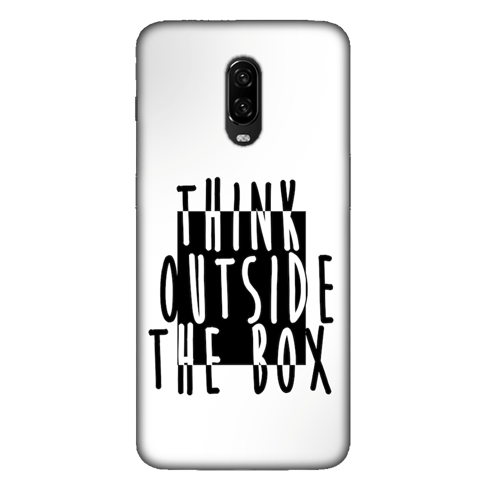 Think Outside of the Box Case Cover - OnePlus 6T - CASE U