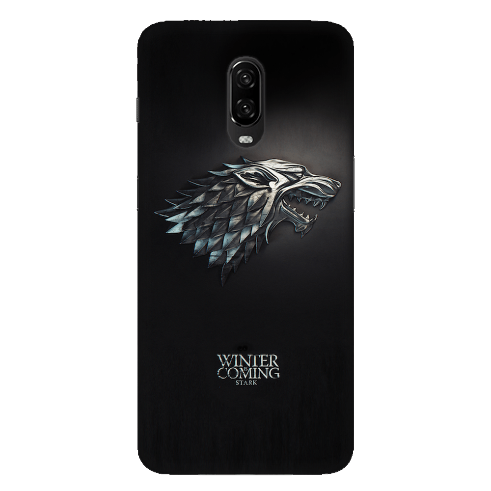Winter Is Coming Case Cover - OnePlus 6T - CASE U