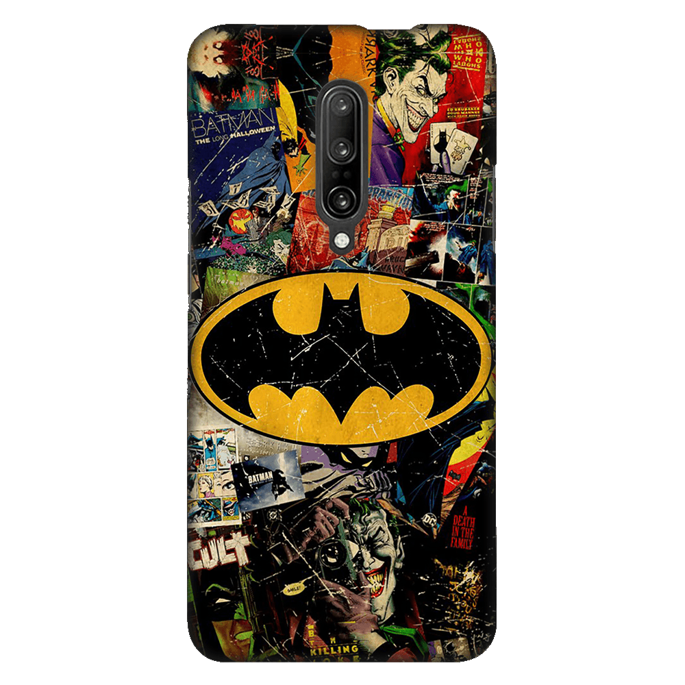 Batman Joker Comic Case Cover - OnePlus 7 Pro - CASE U