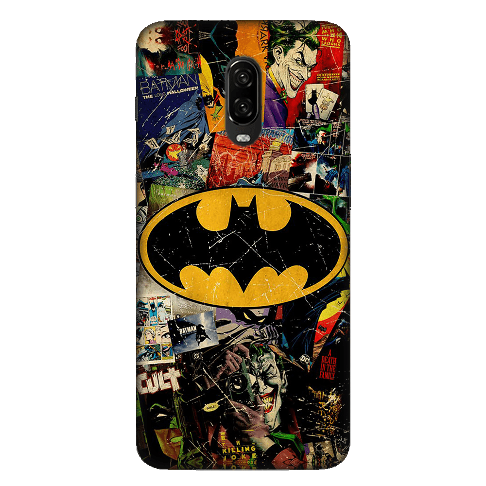 Batman Joker Comic Case Cover - OnePlus 6T - CASE U