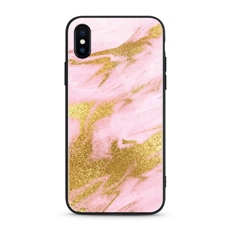 Gold Magistic Marble- iPhone Xs Max - CASE U