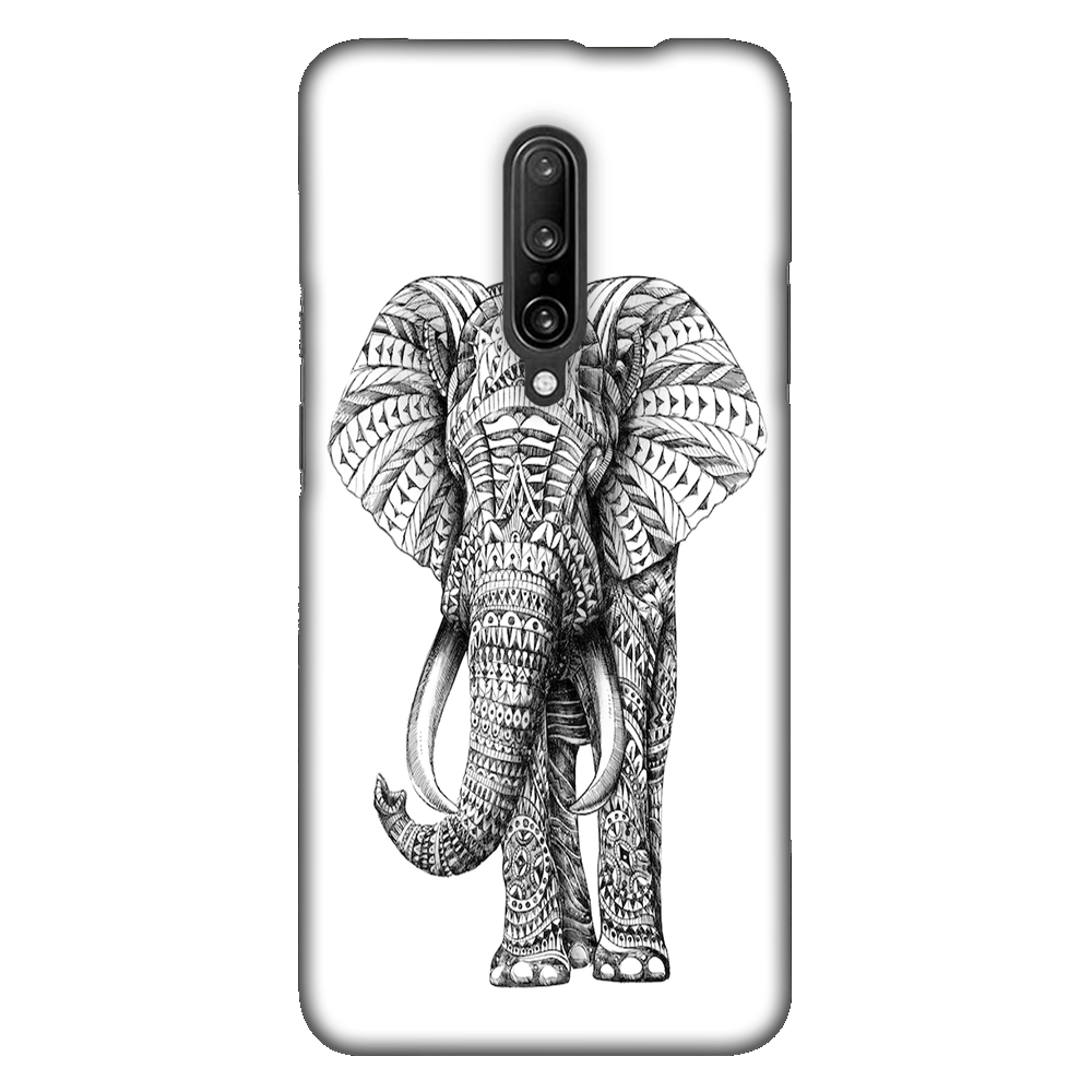 Ornate Elephant Case Cover - OnePlus 7 Pro - CASE U