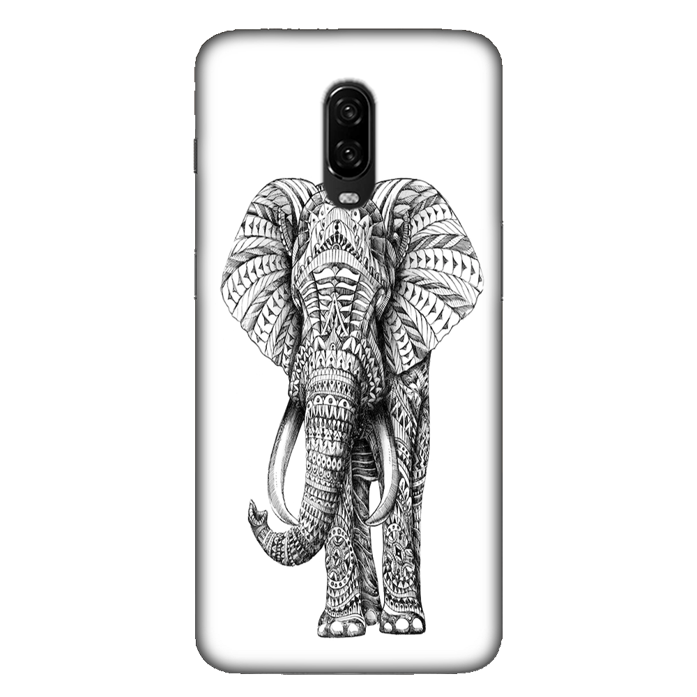 Ornate Elephant Case Cover - OnePlus 6T - CASE U