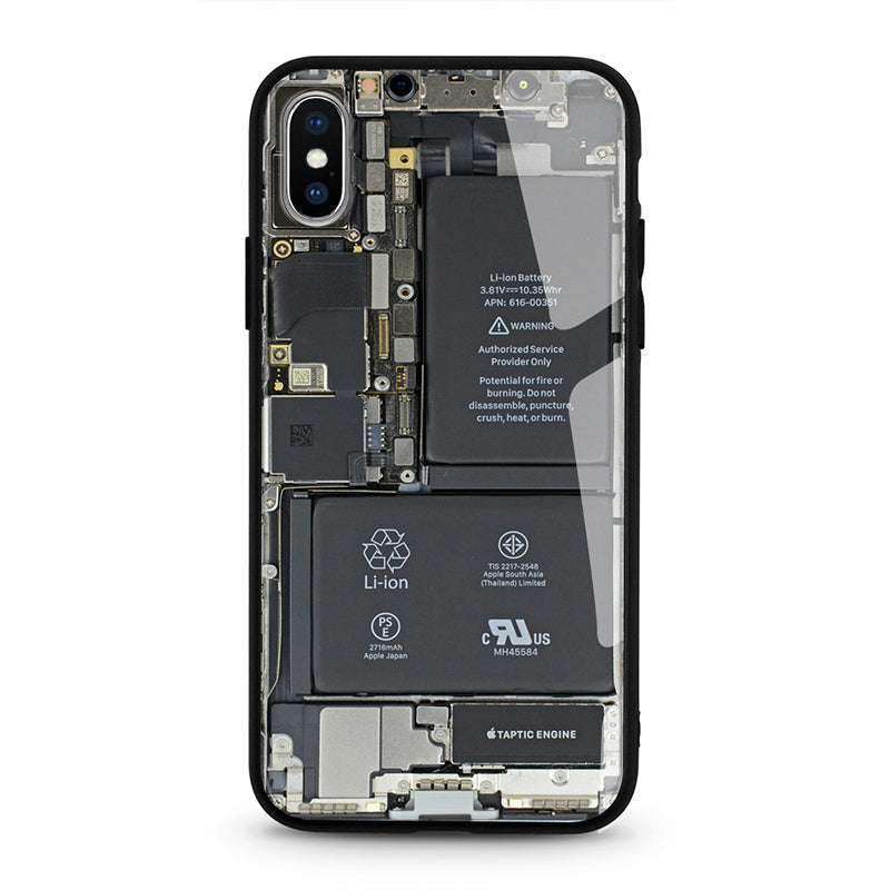 Circuit Board Pattern - iPhone Xs Max - CASE U