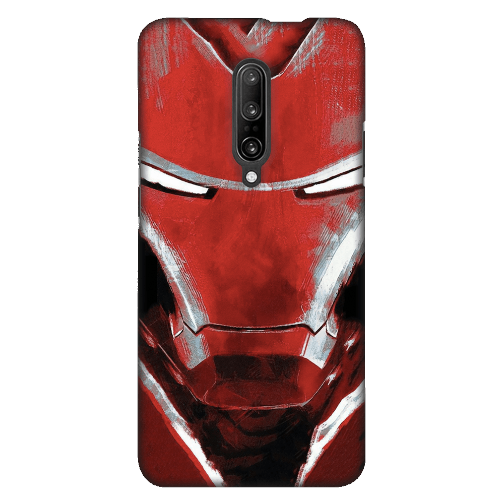 Charcoal Art Iron Man Case Cover - OnePlus 7 Pro - CASE U